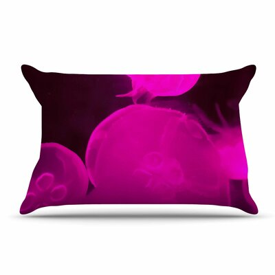 Juan Paolo Pink Jellyfish Pillow Case