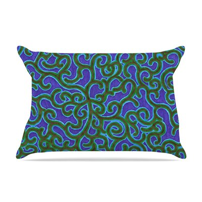 NL Designs Swirling Vines Pillow Case