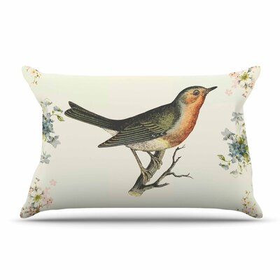 NL Designs Vintage Bird 3 Pillow Case