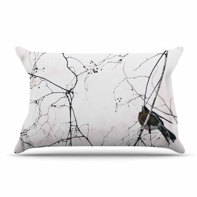 Qing Ji Vintage Bird At Dusk Pillow Case