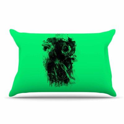 BarmalisiRTB Gasmask Abstract Pillow Case