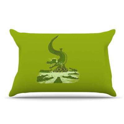 BarmalisiRTB Breakdance Crocodile Pillow Case