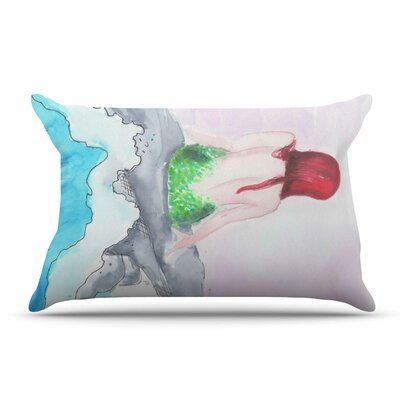 Rebecca Bender Longing To Be Free Fantasy Painting Pillow Case