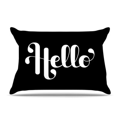 Roberlan Hello Pillow Case