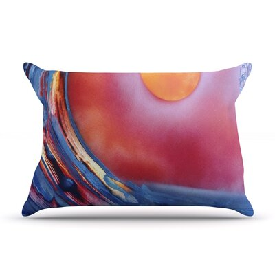 Infinite Spray Art Ideal Barrel Pillow Case