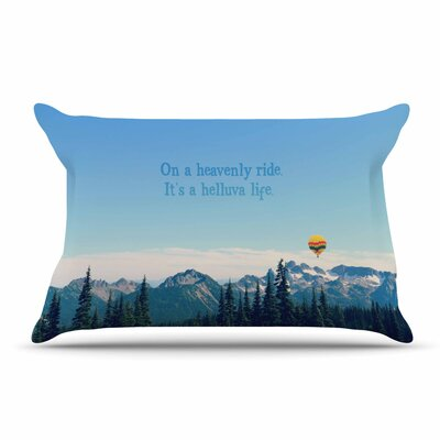 Robin Dickinson ItS A Helluva Life Mountain Pillow Case