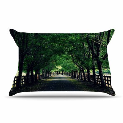 Robin Dickinson Welcome Home Trees Pillow Case