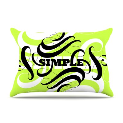 Roberlan Simple Pillow Case