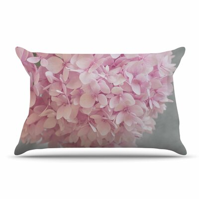 Suzanne Harford Pastel Hydrangea Flowers Floral Pillow Case