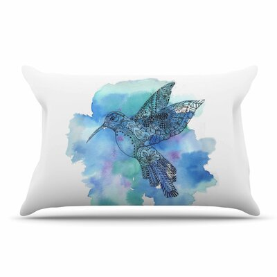 Sonal Nathwani Hummingbird Pillow Case