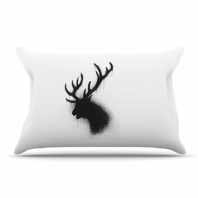 BarmalisiRTB Dark Deer Pillow Case