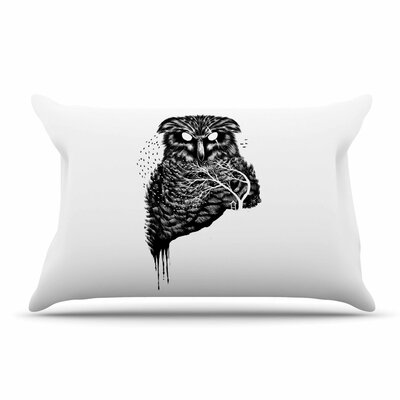 BarmalisiRTB Autumn Owl Pillow Case