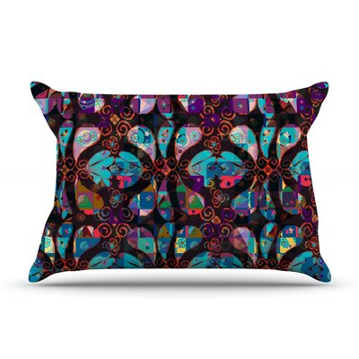 Suzanne Carter  Abstract Pillow Case