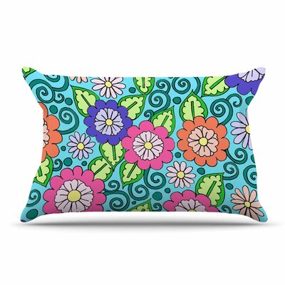 Sarah Oelerich Summer Floral Flowers Pillow Case