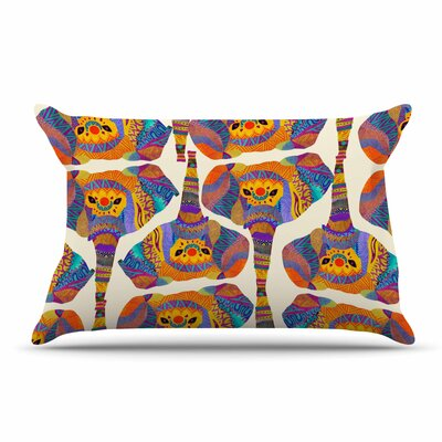 Pom Graphic Design Elephant Play Animal Print Pillow Case