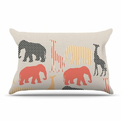 Suzanne Carter Zoo Pillow Case