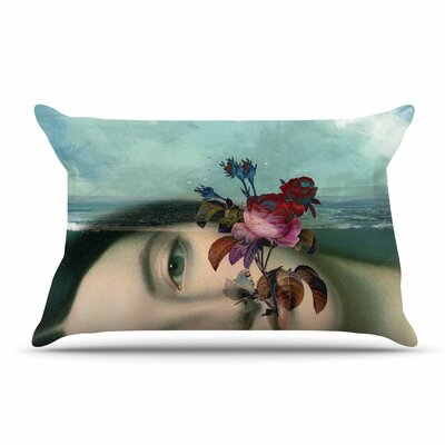 Suzanne Carter 'Emerge' Floral Pillow Case