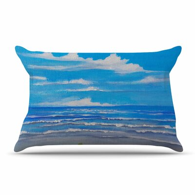 Rosie Brown Sanibel Island Coastal Painting Pillow Case