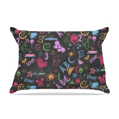 Snap Studio Kindergarden Crazy Rainbow Pillow Case