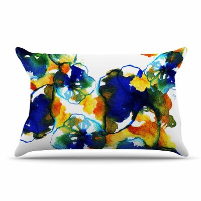 Sonal Nathwani Floral Abstract Pillow Case