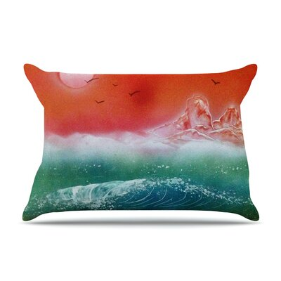 Infinite Spray Art Dream Seascape Pillow Case