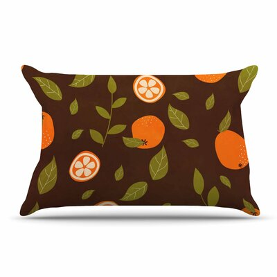 Strawberringo  Abstract Food Pillow Case