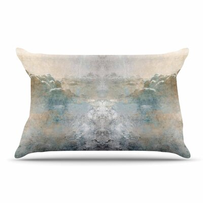 Pia Heaven Ii Mixed Mediia Abstract Pillow Case