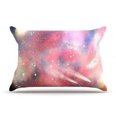 Infinite Spray Art Cascade Swirl Pillow Case