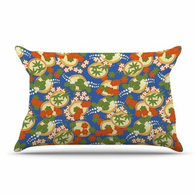 Setsu Egawa Clam And Paulownia Pillow Case
