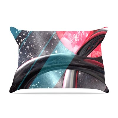 Infinite Spray Art Geometric Mars Pillow Case