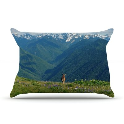 Robin Dickinson 'Nature'S Calling' Pillow Case
