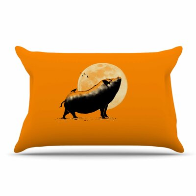 BarmalisiRTB Barking Pig Pillow Case