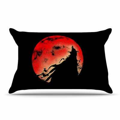 BarmalisiRTB Cloak Moon Pillow Case