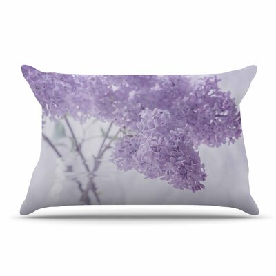 Suzanne Harford Lilacs Floral Pillow Case