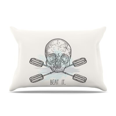 Sam Posnick Beat It Illustration Pillow Case