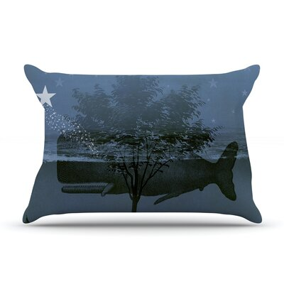 Suzanne Carter Whale Watch Illustration Pillow Case