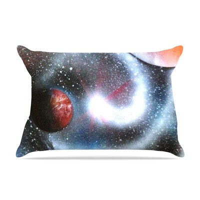 Infinite Spray Art Starburst Galaxy Pillow Case