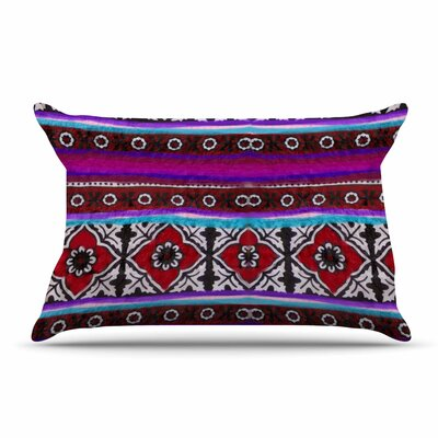 S Seema Z Sindhi Ajrak Pillow Case