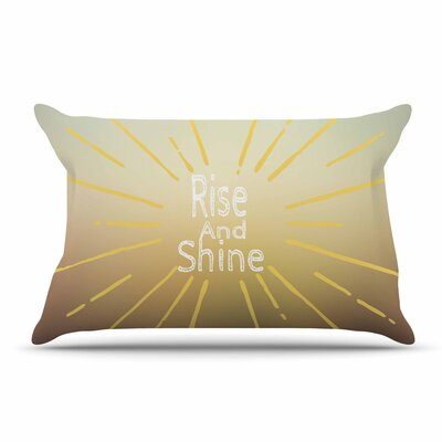 Suzanne Carter Rise And Shine Pillow Case