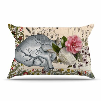 Suzanne Carter 'Her Heart Is A Garden' Pillow Case