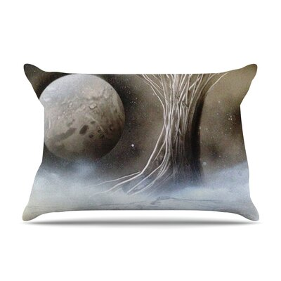 Infinite Spray Art Tree Space Pillow Case