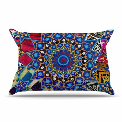 S Seema Z Ethnic Explosion Arabesque Pillow Case