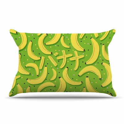 Strawberringo Banana Abstract Food Pillow Case
