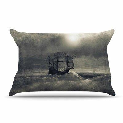 Viviana Gonzalez Chapter Iii Dark Ship Pillow Case