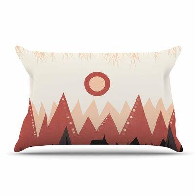 Viviana Gonzalez Landscape A. Coral Pillow Case