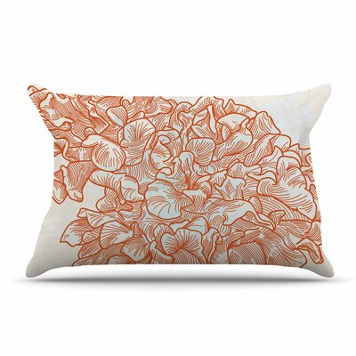 Sam Posnick Lettuce Coral Pillow Case