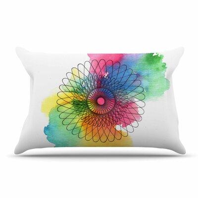 Sonal Nathwani Rainbow Spiro Pillow Case