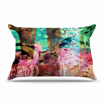 AlyZen Moonshadow Abstract Pillow Case