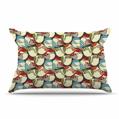 Amy Reber Chickadees Pillow Case