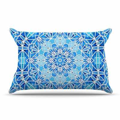 Art Love Passion Star Snowflake Pillow Case